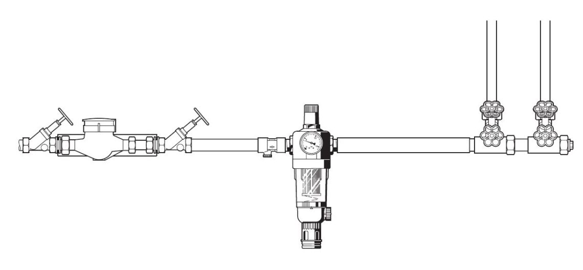 hauswasserfilter-montage-enthaertungsanlage