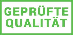 Geprüfte Qualität - Fertigung in Deutschland