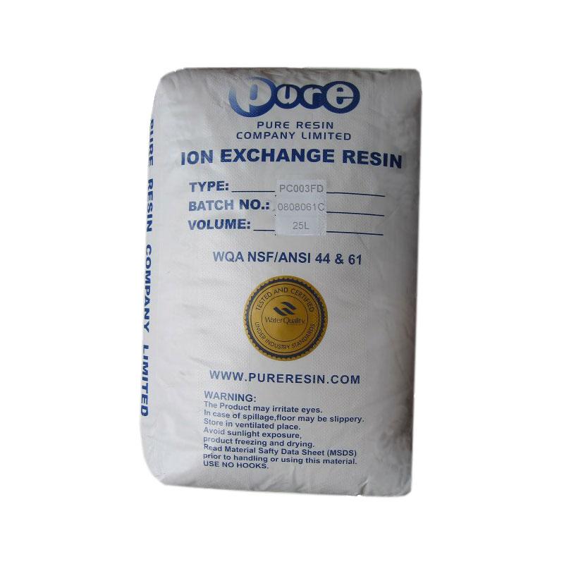 Pure Resin PC 003 Harz zur Wasserenthärtung Wasserentkalkung Enthärtung 25L NEU