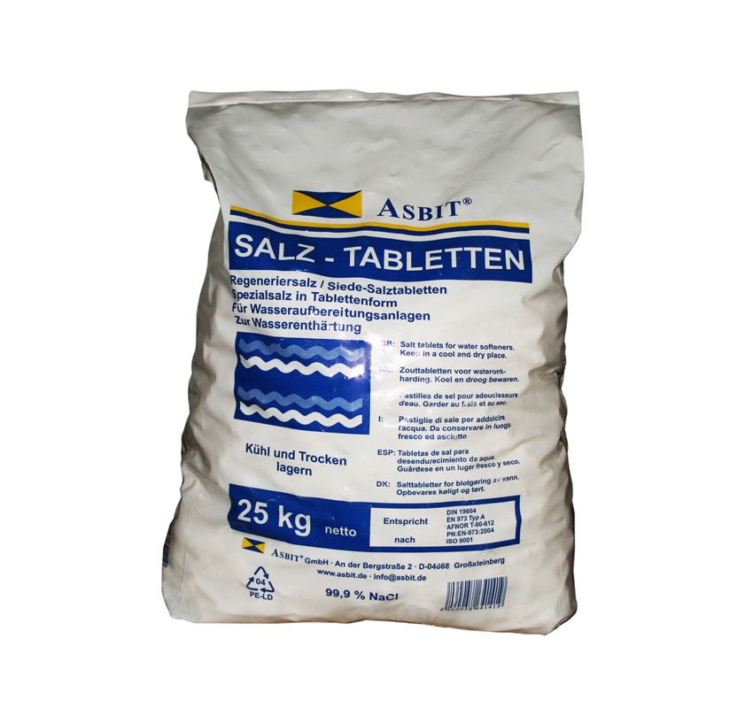 <strong>4x 25 kg Regeneriersalz Tabletten</strong>