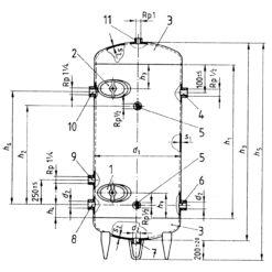Druckbehälter TÜV Zertifizierung