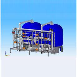 Enthärtungsanlagen Industrie Kadosoft WEDC 1400 - 10000