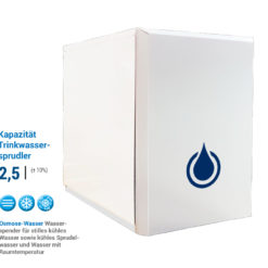 Tafelwasseranlage Untertisch Umkehrosmoseanlage